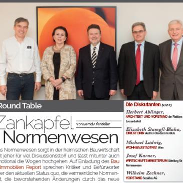 Report 02 2016 Zankapfel Normenwesen