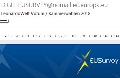 Umfrage zur Kammerpolitik 3.5.2018